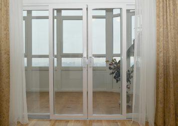 Французское окно вместо балконного блока