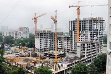 Стадии строительства многоквартирного жилого дома