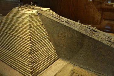 Пандуса для поднятия многотонных каменных блоков