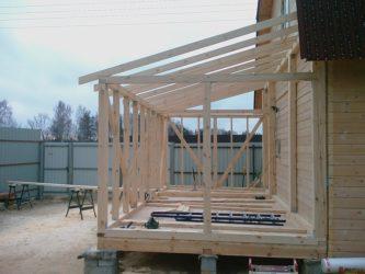 Строительство террасы к дому своими руками