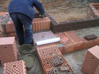 Дом из керамических блоков своими руками