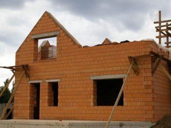 Строительство коттеджей из керамических блоков