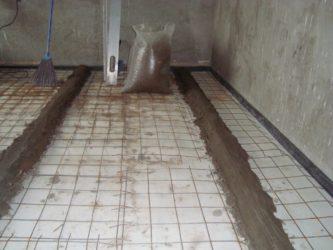 Минимальная толщина стяжки пола в квартире