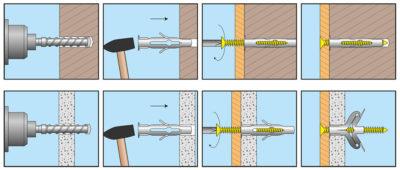 Саморезы для газобетонных блоков