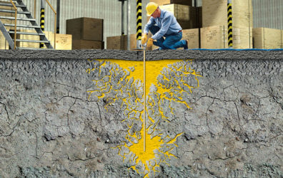Укрепление грунтов инъекционными методами в строительстве