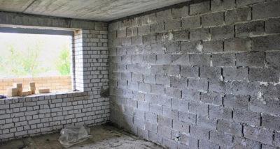 Керамзитобетонные блоки для перегородок в квартире