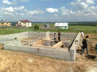 С чего начинать строить дом поэтапное строительство?