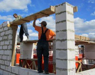 Особенности строительства дома из газобетона