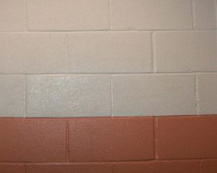 Покраска блоков без штукатурки