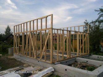 Технология строительства каркасного дома поэтапно своими руками