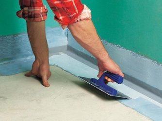 Гидроизоляция ванной комнаты до или после стяжки?