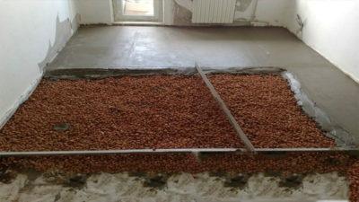 Состав стяжки пола из керамзитобетона заказать бетон хасавюрте