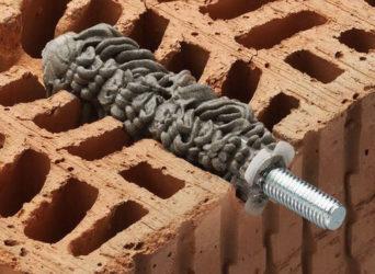 Дюбель для керамического блока