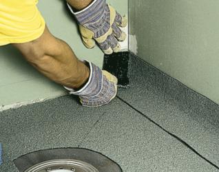 Монтаж сливного трапа в бетонную стяжку