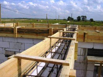 Сейсмопояс при строительстве дома