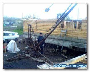 Самодельные подъемные механизмы для строительства дома