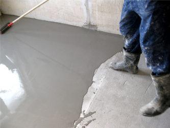 Ремонт стяжки бетонного пола своими руками