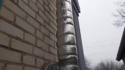 Утеплитель для дымохода газового котла