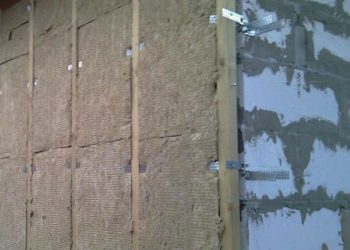 Утепление стен внутри бани из блоков
