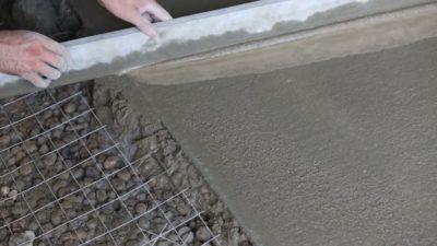 Пескобетон с керамзитом для стяжки пола