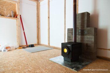 Как отапливать каркасный дом зимой?