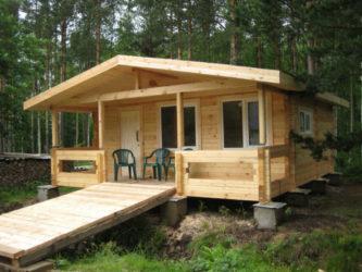 Строительство садового домика своими руками