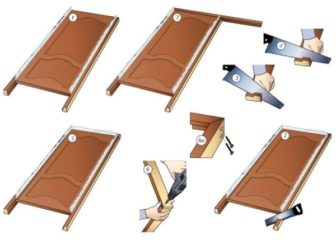 Как установить дверной блок своими руками?