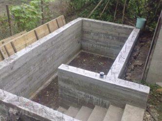 Погреб из керамзитобетонных блоков своими руками