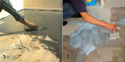 Сколько должна сохнуть стяжка перед укладкой плитки?