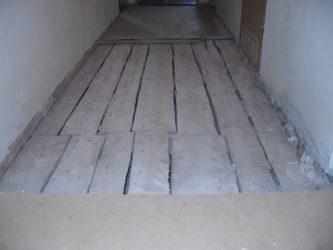 Можно ли делать стяжку на деревянный пол?