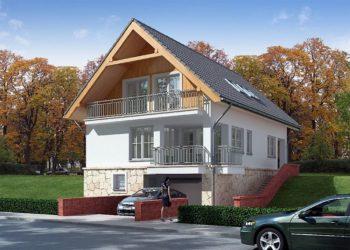 Строительство дома с гаражом в подвале