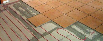 Греющий кабель в бетонную стяжку