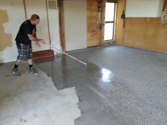 Чем покрыть бетонную стяжку на улице?