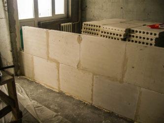 Блоки для внутренних перегородок в квартире