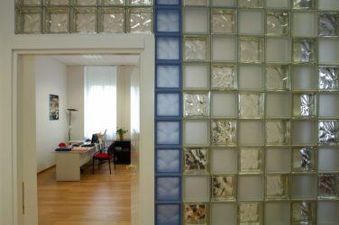 Стеклянные блоки для стен
