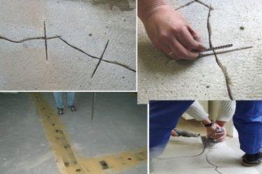 Что делать если стяжка пола дала трещины?