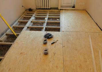 Полы в квартире варианты вместо стяжки
