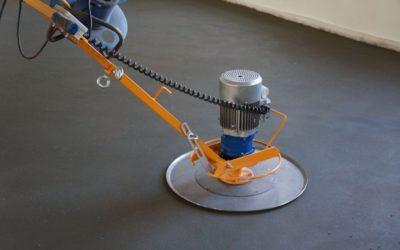 Полусухая стяжка пола механизированным способом