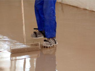 Самовыравнивающийся пол на бетонную стяжку