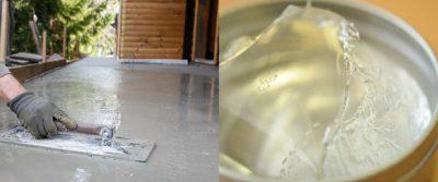 Применение жидкого стекла в строительстве
