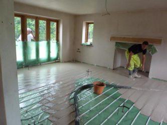 Как залить стяжку на деревянный пол?
