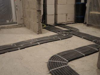 Проводка в полу под стяжкой