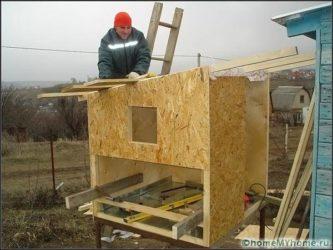 Строительство курятника своими руками пошаговая технология