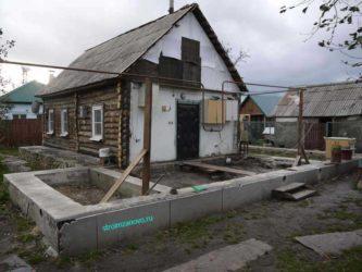 Строительство нового дома вокруг старого