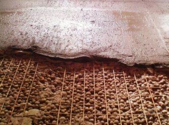 Как сделать стяжку по керамзиту?