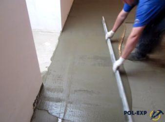 Как выровнять пол под ламинат без стяжки?