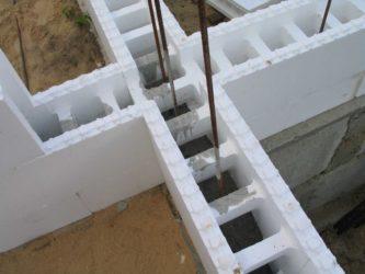 Несъемная опалубка для монолитного строительства