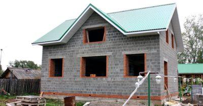 Как строить дом из керамзитобетонных блоков?