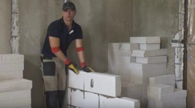 Блоки для строительства межкомнатных стен