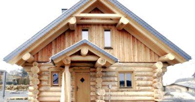 Строительство домов из бревна ручной рубки